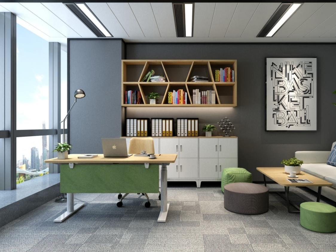 智能办公家具升降桌的工作原理