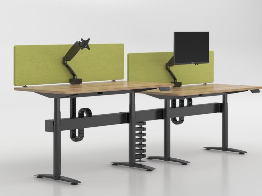 奥美丽办公家具带你探索升降办公桌行业l技术