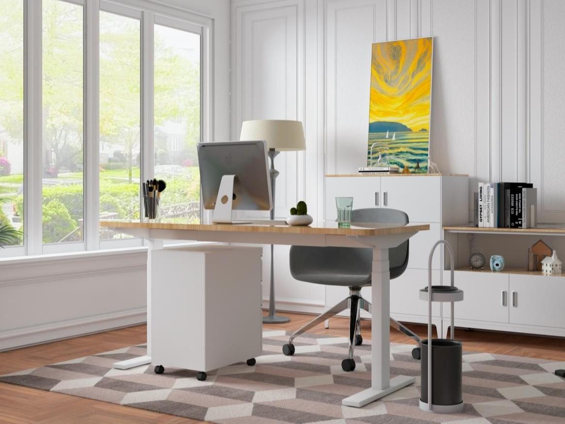 升降式办公桌