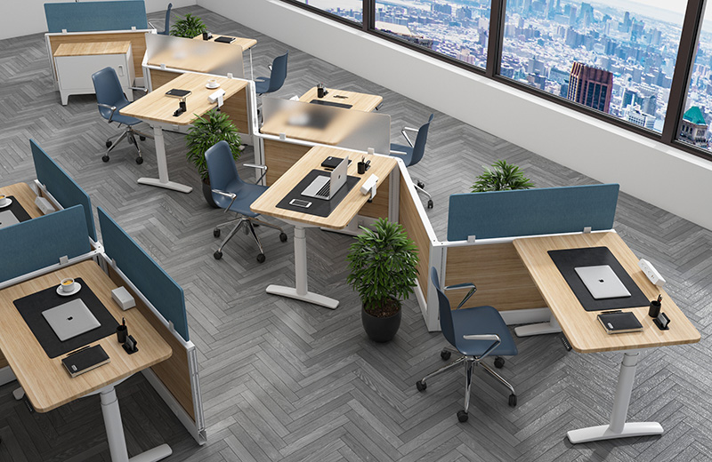 企业办公家具解决方案-职员办公区