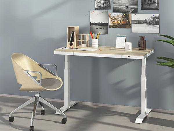 可以升降的办公桌(带抽屉)