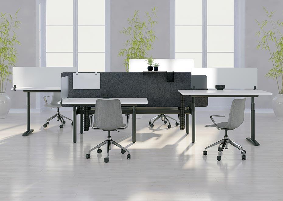 职员办公桌-普通职员办公室