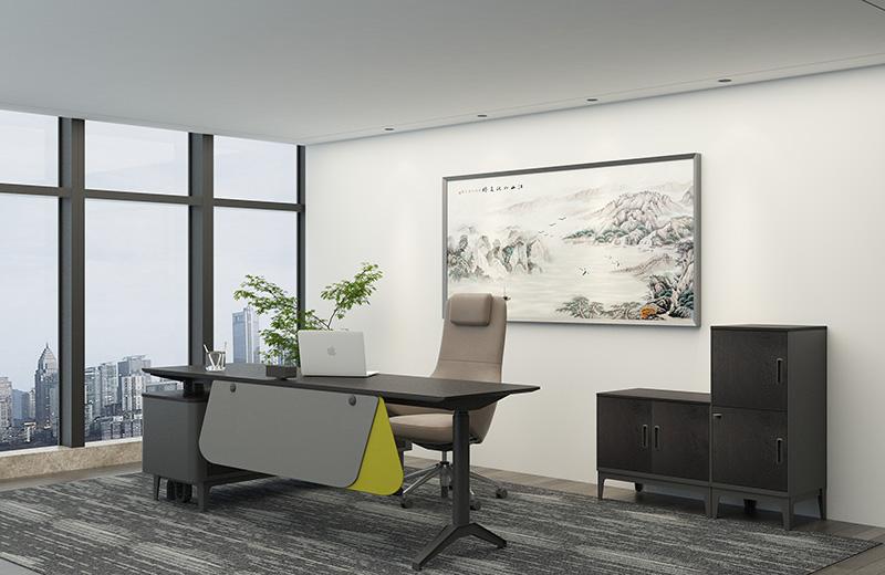 科员办公室-办公家具方案-高端商务办公家具