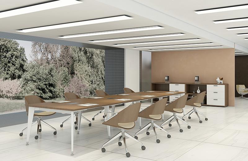 会议室-办公家具方案-高端商务办公家具
