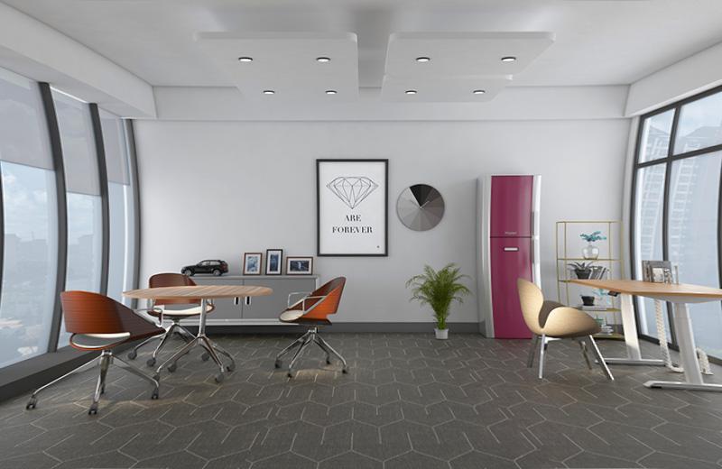 公司办公家具定制-共享区