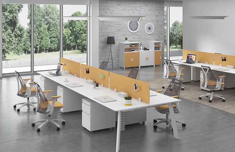 直型办公桌