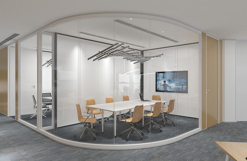 职员办公桌-会议室