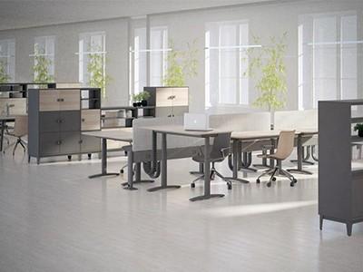 员工办公桌组合方式