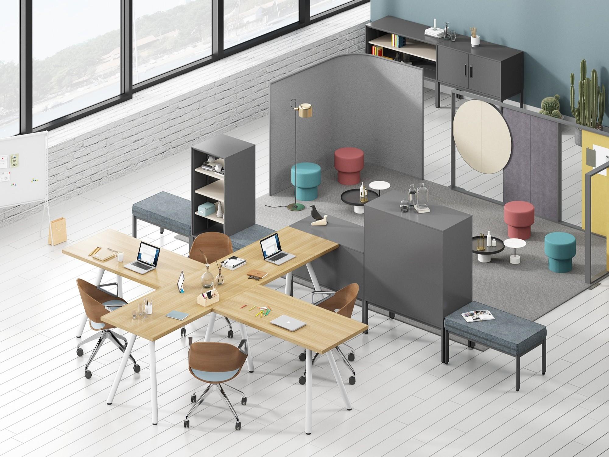 当传统办公家具遇上了现代办公家具