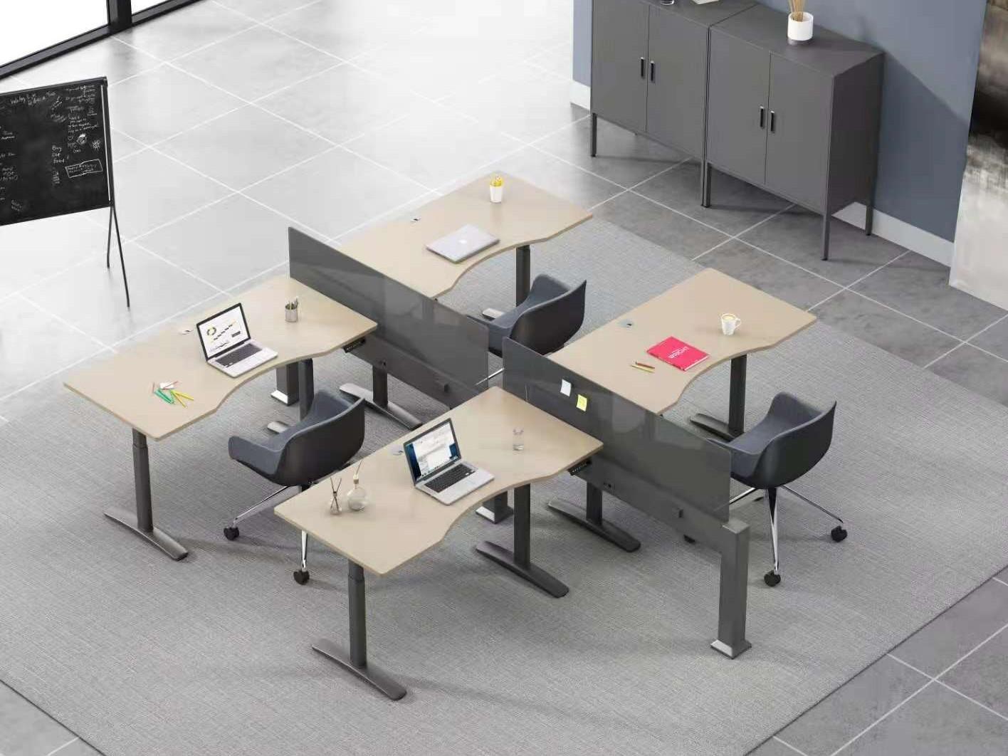 开放式现代办公家具