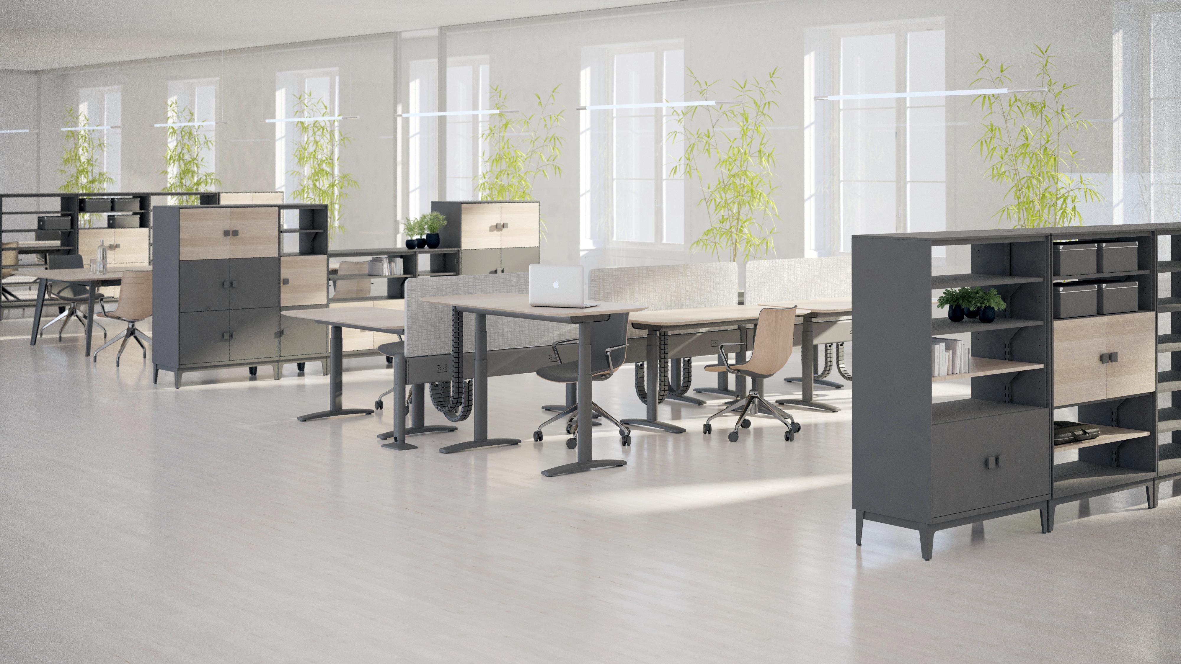 怪不得国外企业都用电动升降桌子办公!