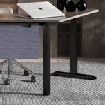 l型升降桌,简约办公家具定制操作简便