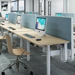 江苏办公家具-升降员工桌-外观简洁大方