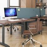 站立式办公桌升降自由